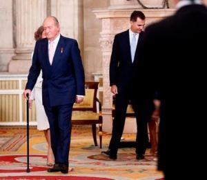 Juan Carlos vient d'abdiquer
