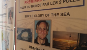 Charles Hedrich a réalisé le tour du monde par les 2 pôles