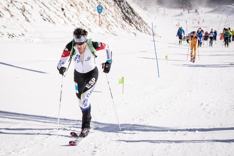 Andorre, Killian Jornet remporte la 2ème manche de la coupe du monde de Vertical Race - crédits ismf