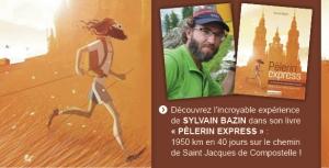 """""""Pèlerin express"""", le livre de Sylvain Bazin"""