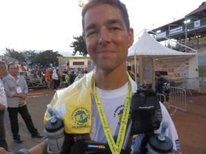 Finisher et médaillé à la Réunion