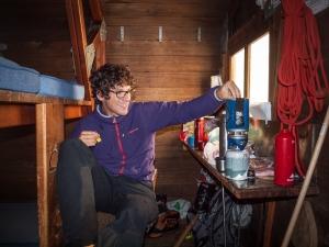 Cyril Salomon aime la montagne et la pratique